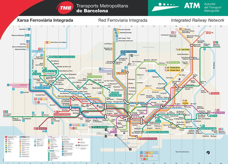 Assez Titres de transport - Plan de Metro de Barcelone KW15