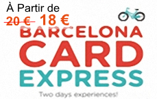 Barcelone Card Express