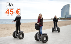 Barcellona in Segway
