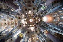 Sagrada Familia - interior