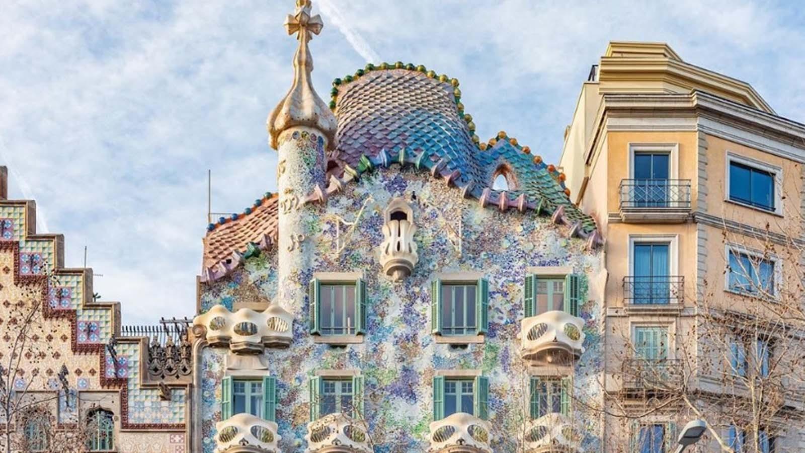 Casa Batlló -tickets to visit the Casa Batlló (Antoni Gaudí)